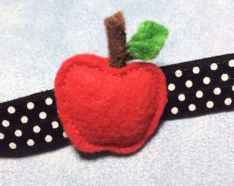 Cutest Little Apple Baby Headband