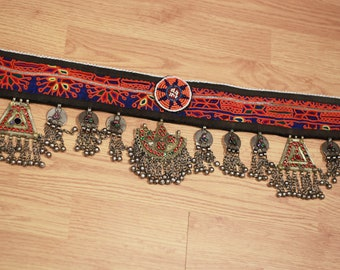 Vintage Kuchi Gypsy  Tribal Belly Dance Belt