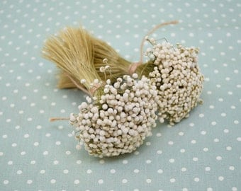 A  bunch of  dried  flowers  - Botanical  dried flowers  for  DIY , Dried Flower Arrangement, Home & Wall Decor
