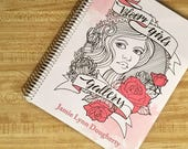 """Bloom Girls"""" Color and create book by Jamie Lynn Dougherty"""