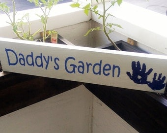 Garden Sign: Custom Garden Sign - Personalized for you