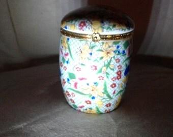 Ginger Jar Style Trinket Jewelry Box