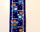 Danish Christmas wall hanging with angels by Jangaard Denmark