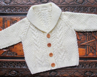 Wee Aran - KNITTING PATTERN - pdf file by automatic download