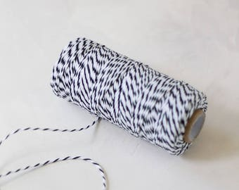 Black Premium Baker's Twine - 110 yards