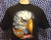1992 3D Emblem Harley Davidson t-shirt, fits like a large