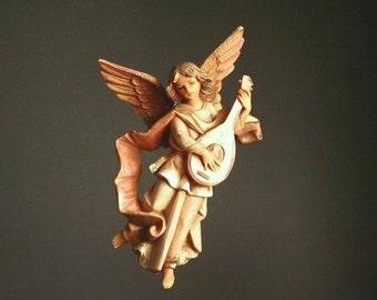 Vintage Nativity angel, Italy, Fontanini 670 spider mark