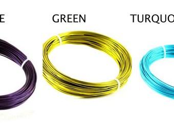 Colored Aluminium Wire mt 30