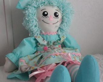 Handmade 20'' Raggedy Ann Doll