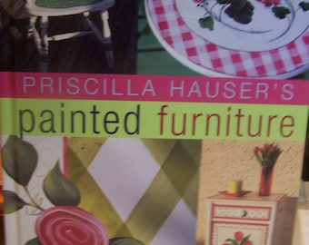 "Book ""Priscilla Hauser's Painted Furniture"" Hardcover 128 Pages"