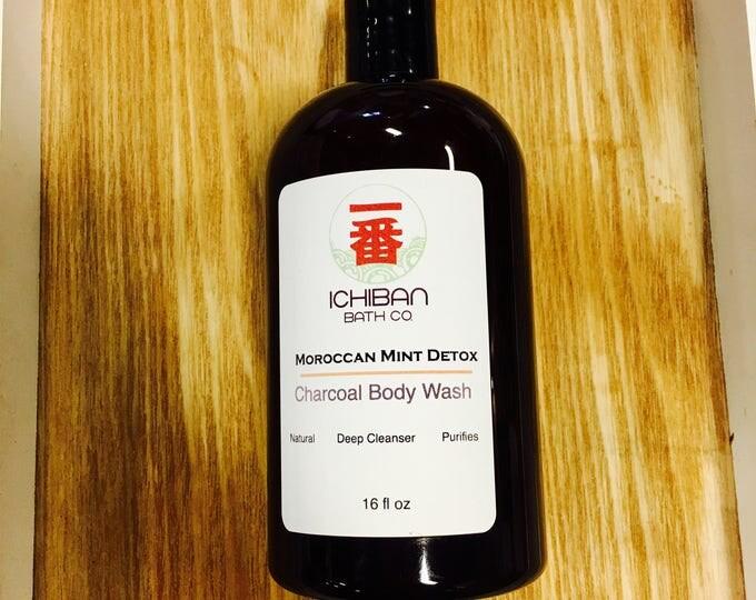 Ichiban Body Wash//Charcoal Body Wash // Pink Clay Body Wash // Mens Body Wash
