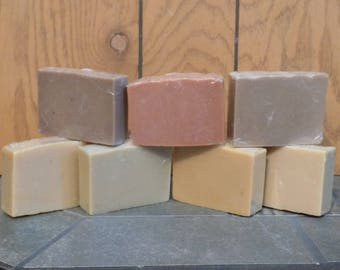 Goat Milk Soap with Clay - Choose Fragrance