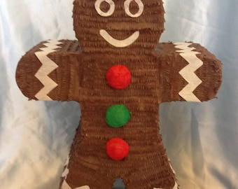 Gingerbread Man / Gingerbread Woman Pinata