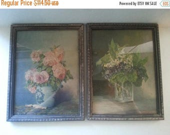 Now On Sale Rare Antique M. Streckenback Litho in USA Numbered Art Work, 1920's 1930's Vintage Home Decor