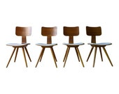 Mid century Modern BENTWOOD DINING CHAIRS