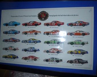 Nascar Enthusiast Print Datona 500