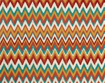 Two  Custom  20 x 20 Designer Decorative Pillow Covers  Indoor/Outdoor - Zig Zag