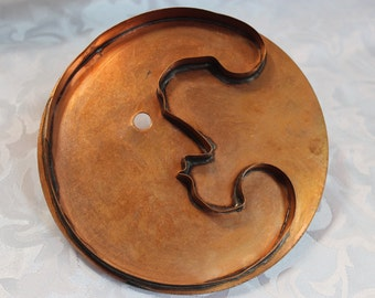 Man In The Moon  - Cookie Cutter - Copper Cookie Cutter - Martha Stewart