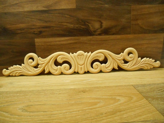 Onlay applique embossed applique decorative onlay 19 for Decorative wood onlays