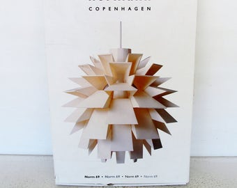Pendant Lamp Kit Danish Modern Norm 69 XLarge White Normann Copenhagen Assembly Required
