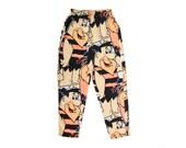 Rockin' 80s Fred Flintstone Neon Sweat Pants - 26 to 36