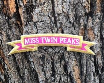Miss Twin Peaks Patch