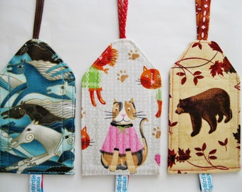 Luggage ID Tags - Horses, Kitty, Bear