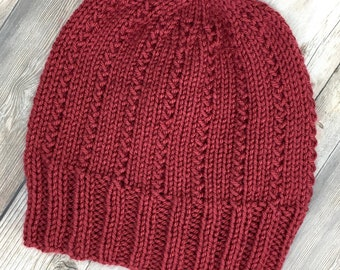 Unisex Knit Hat, Knit Beanie, Woman Hat, Man hat, Teen hat, Winter hat, Warm hat, Woman's Accessory, Skullcap