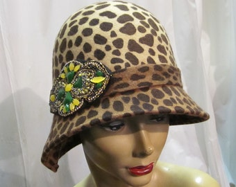 Leopard / Cheetah print Hat