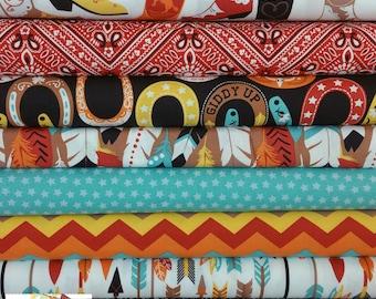 Boy Luckie Bundle from Blend Fabrics (8 Fabrics Total)