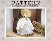 PATTERN Download to create Teddy like Lola 15 inch OOAK