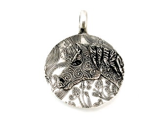 Horse Pendant, Silver Horse, Horse Jewelry, Equine Jewelry, Horse Head, Silver Horse Jewelry, Horse Lovers, Equestrian Jewelry, 1165b