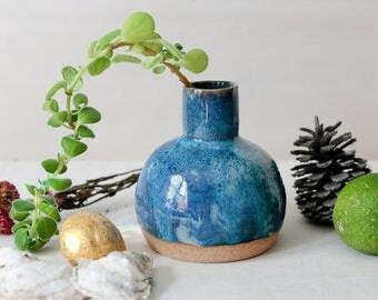Deep ocean vase