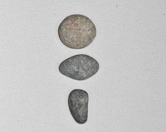 Smooth River Rocks, Set of 3