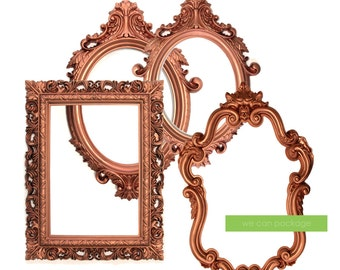NEW! COPPER Picture Frame - Industrial Wedding Decoration - Bohemian Photo Booth