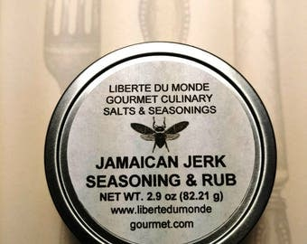 Jamaican Jerk Seasoning & Rub Available in a Variety of Sizes