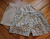 DIY Boxer Shorts Pattern and Tutorial