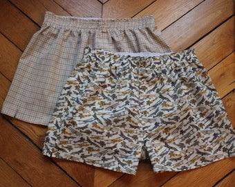 DIY Boxer Shorts Pattern and Tutorial