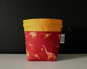 Dice Bag ~ Dinosaurs