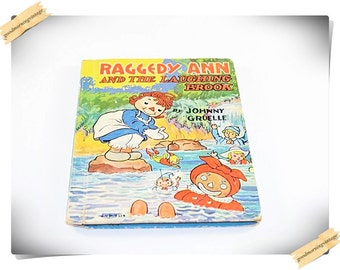 Raggedy Ann and the Laughing Book