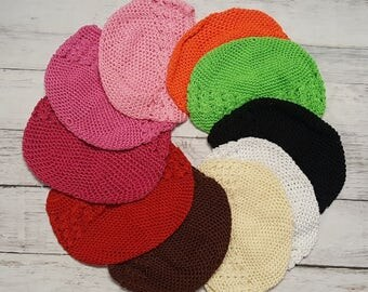 Toddler Crochet Kufi Hat *******CLOSEOUT********* Assorted Colors