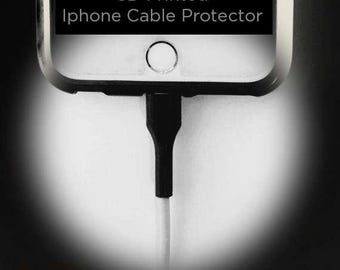 3d Printed Iphone Cable Protecto, Lighting cable protector  USB apple protector. FREE SHIPPING!