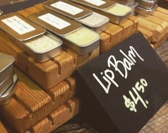 Vanilla Latte Lip Balm Slidey Tin - Organic Cocoa Butter, Coffee Butter, Avocado Oil & Natural Beeswax