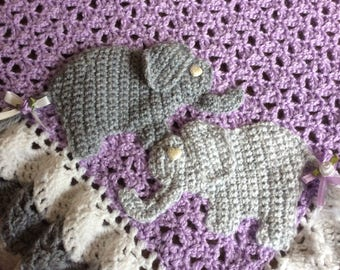PINK crocheted baby blanket fan pattern intricate 3 tier
