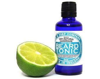 Fresh Lime Beard Oil, All Natural, Handmade in Ireland