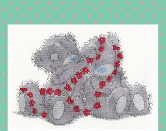 Daisy Chain - DMC Tatty Teddy Counted Cross Stitch Kit