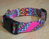Wild Child cotton Dog COLLAR custom dog collar