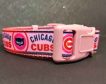 Chicago Cubs Dog Collar ...PINK