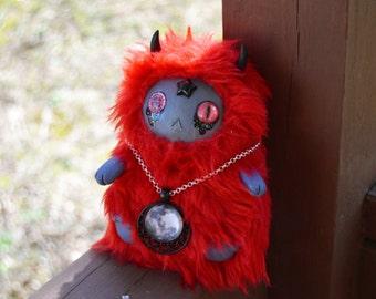 READY TO SHIP, Dreamy Star Creature Art Doll