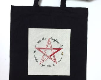 Embroidery Kit 5 euros 4 charity Daughters OF WITCHES